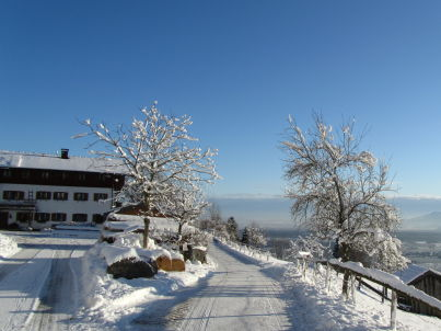 Sonnenaufgang am Koglhof
