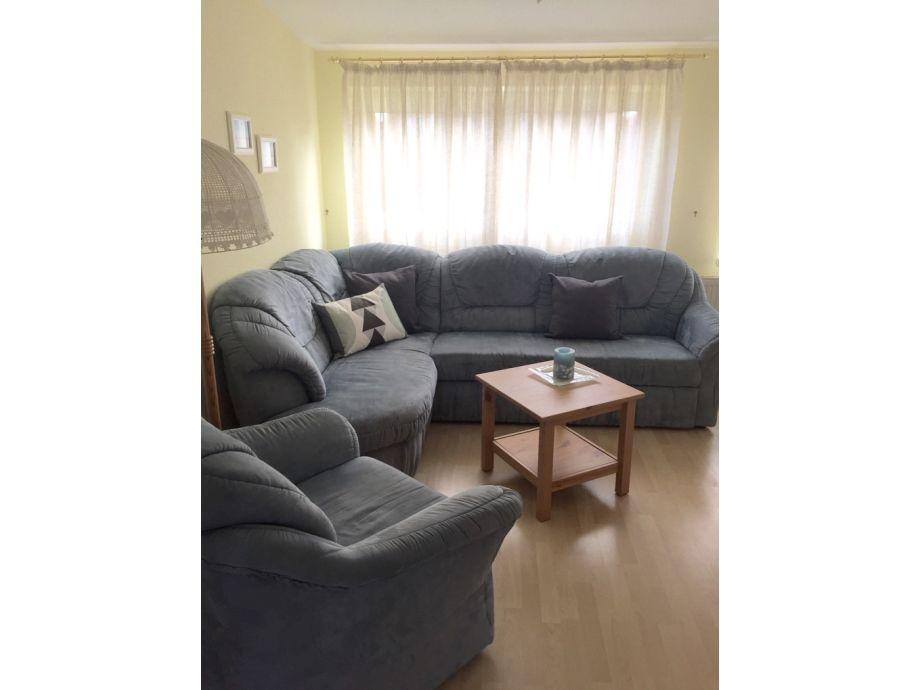 Wohnzimmer mit großer Eckcouch