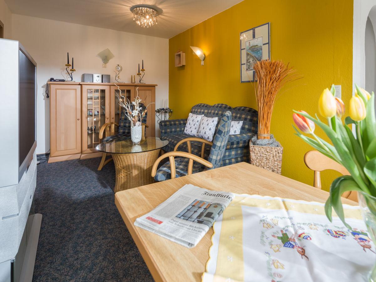 Ferienwohnung 3 ferienhaus th nnes nordsee for Wohnzimmer eingerichtet