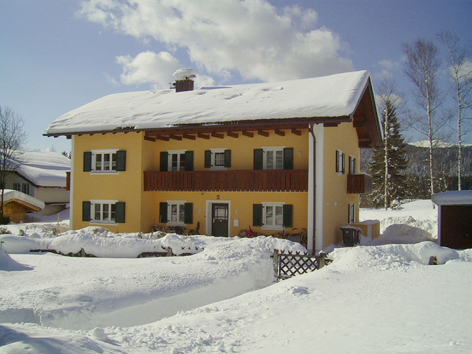 "Holiday apartment ""Haus Buckelwiesen"" in winter"