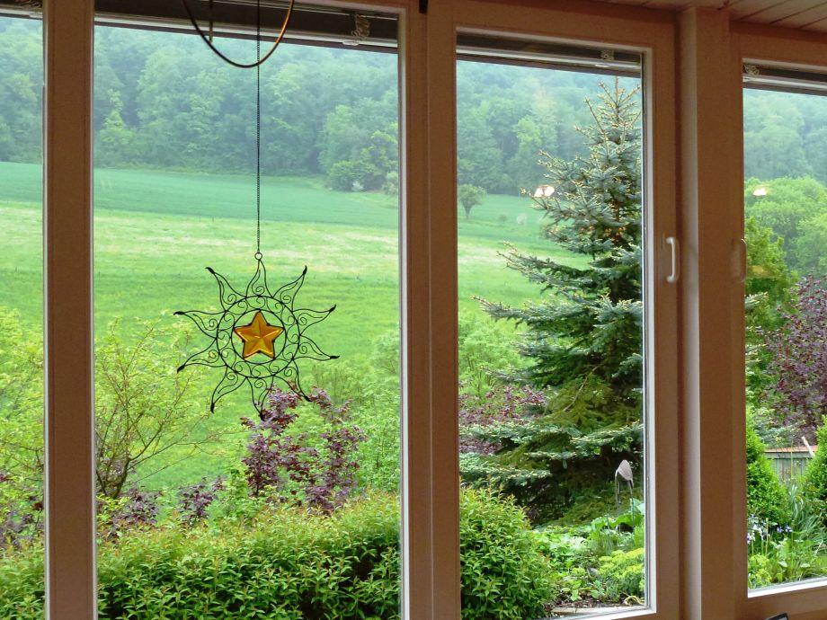 Ihr Blick aus dem Wohnzimmerfenster.