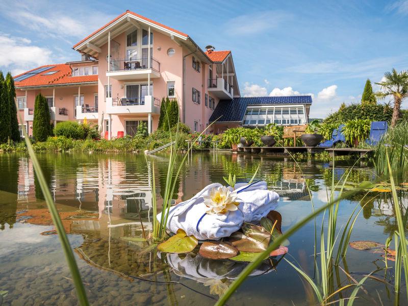 Ferienwohnung LAPIS-LAZULI inkl. Sauna Wellnesshof Blenk