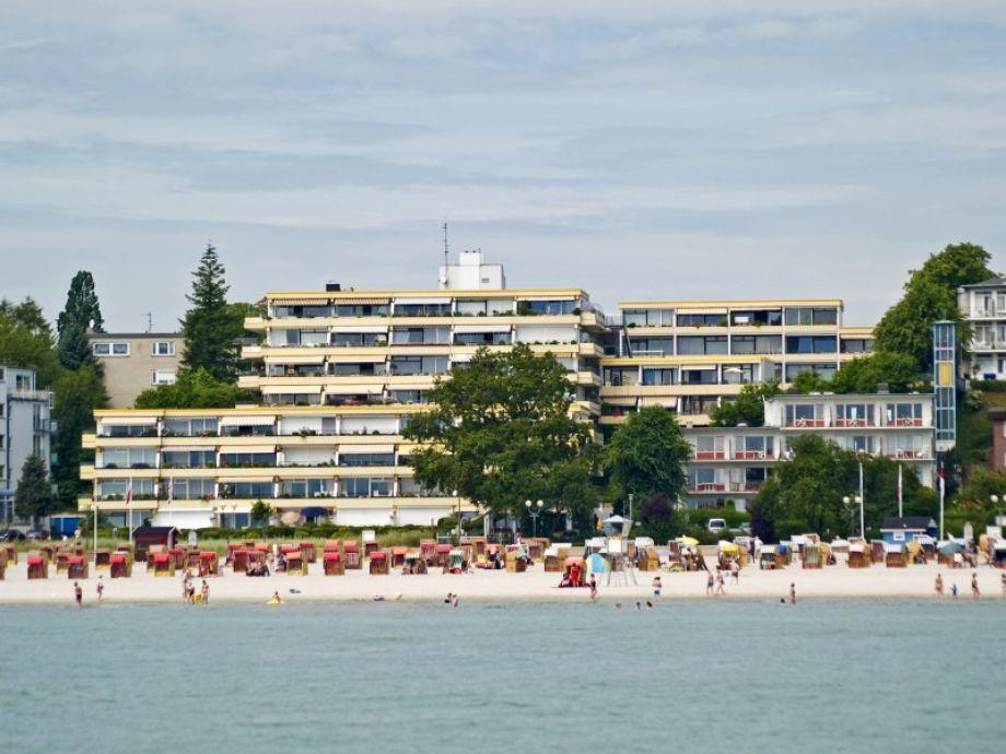 Außenansicht der Ferienwohnung in Grömitz