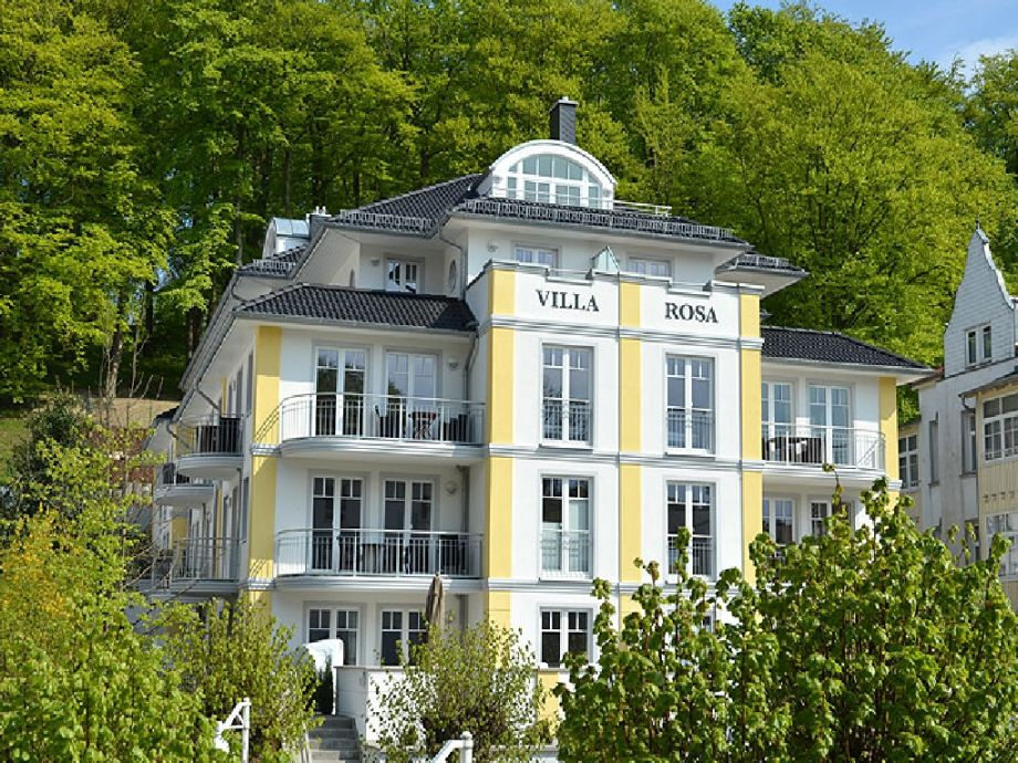 Ferienwohnung in der Villa Rosa