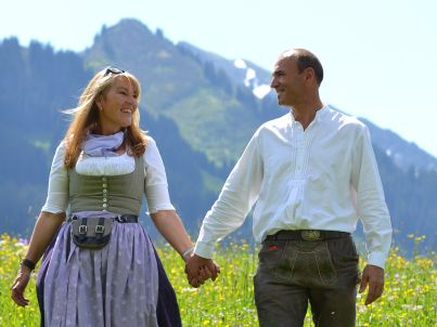 Ihr Gastgeber Coletta und Manfred Sättele