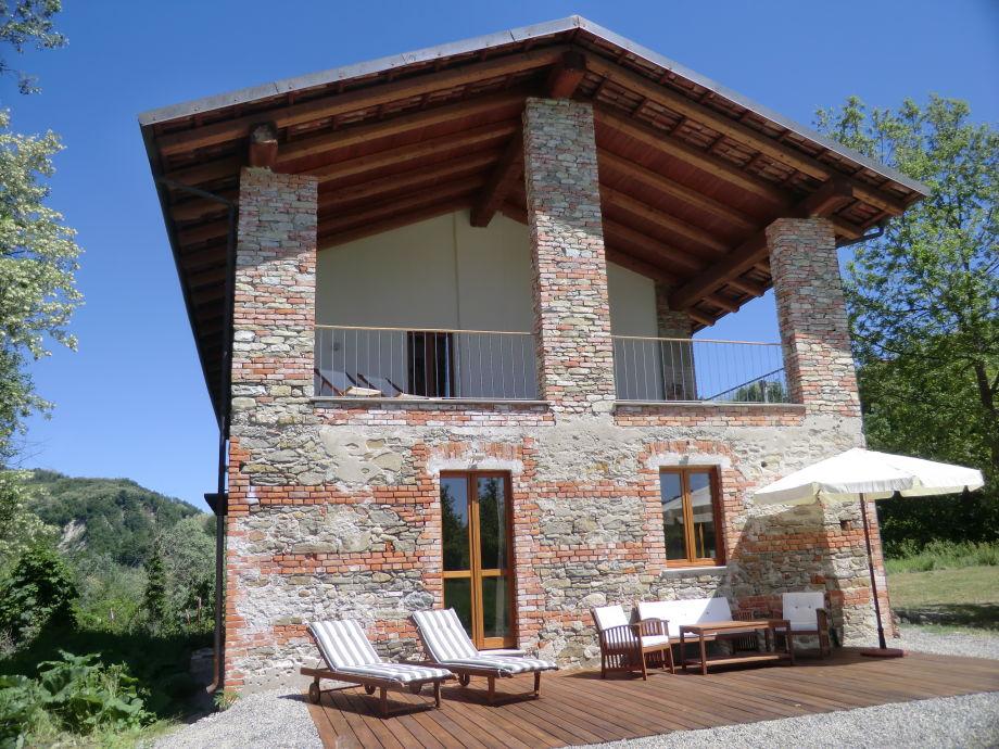 Das Casa al Tanaro - Ferienhaus im Südpiemont