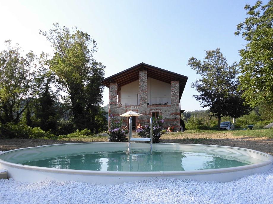 Der Pool mit 3,5m Durchmesser - ideal zum Planschen!