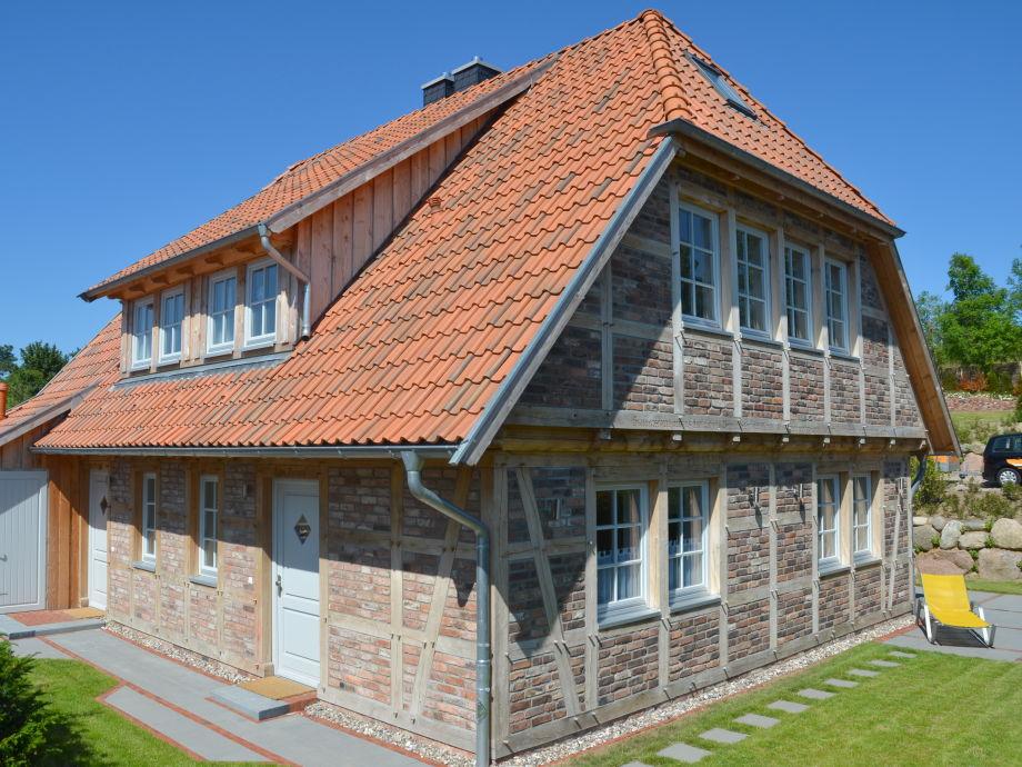 Das Fachwerkhaus mit Terrasse und Garten