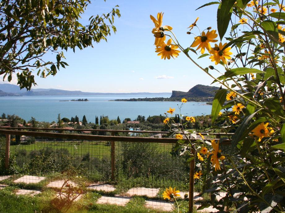 Außenaufnahme Romantische Ferienwohnung mit Seeblick
