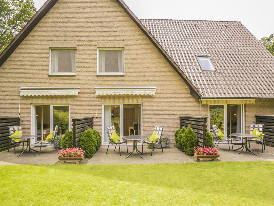 Landhaus Teutenberg Gartenansicht