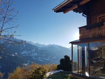 Berghütte Gästehaus Schrunsblick