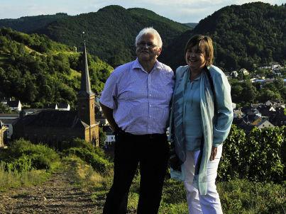 Ihr Gastgeber Alwine und Hans-Peter Hafer