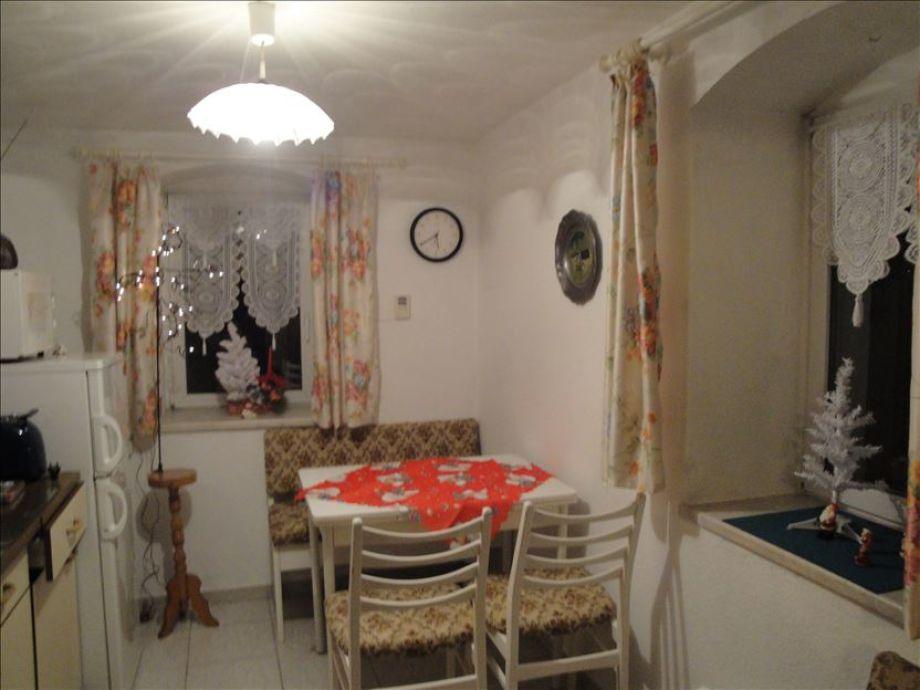 Küche zur Weihnachtszeit