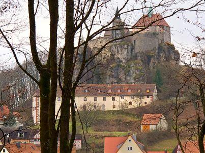Ferienwohnung Langhaus Burg Hohenstein