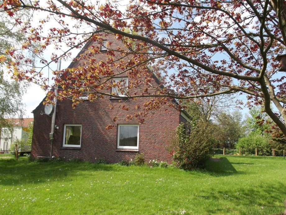 Haus vom Tief aus gesehen