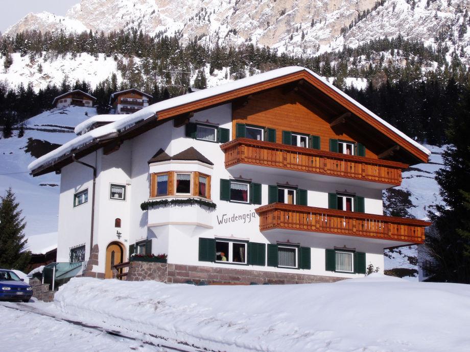 Ferienhaus Wurdengeja im Winter
