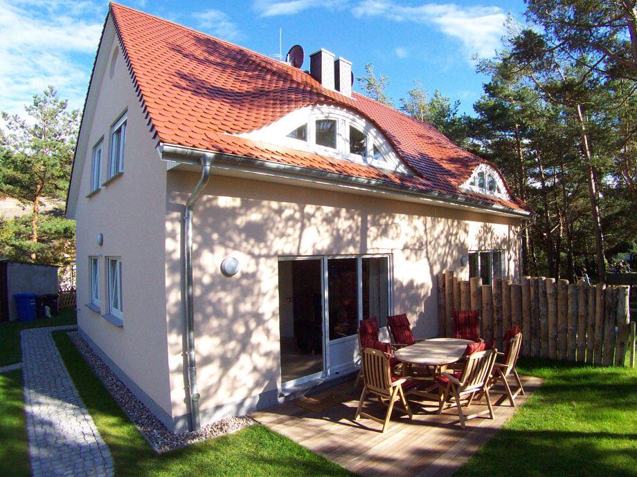 Strandhaus 43: Terrasse in der Nachmittagssonne
