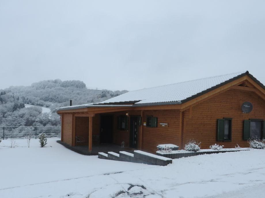 Haus Susi im Winter