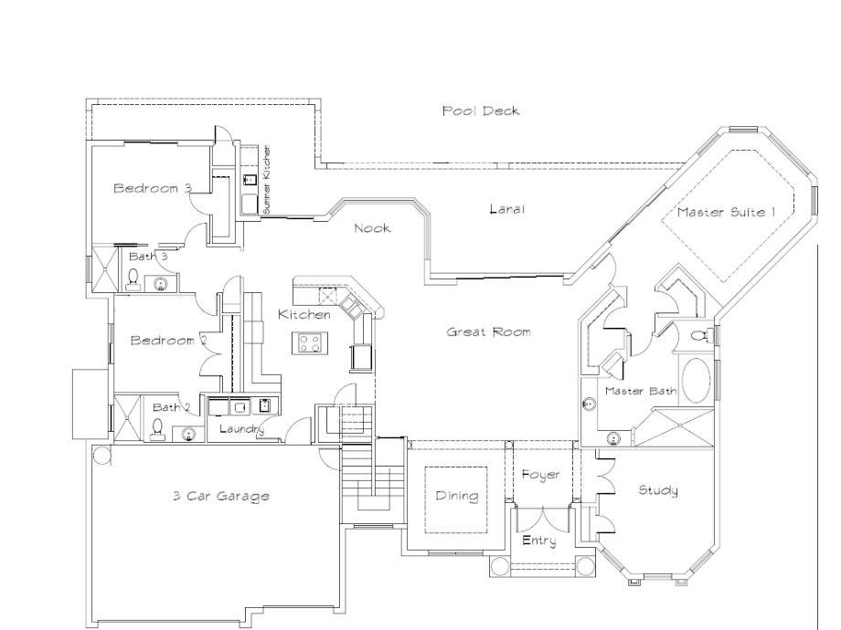 Traumvilla grundriss  Villa Majestic, Golf von Mexiko, Florida, Cape Coral - Firma CCVS ...