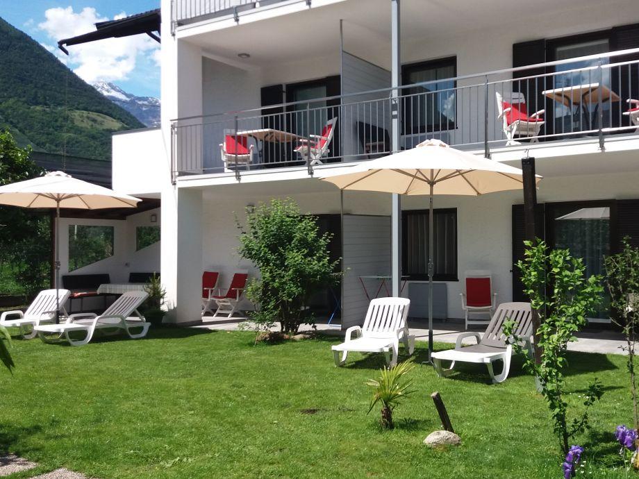 Südseite = Sonne /  Terrassen - & Balkonbereiche