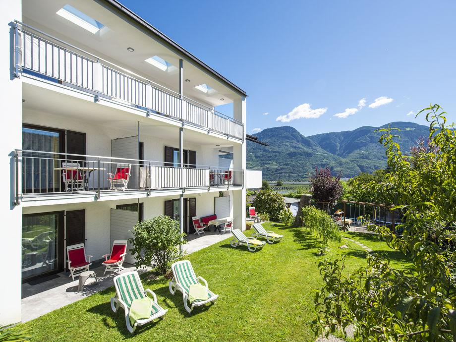 Terrassen- und Balkonbereiche mit Garten
