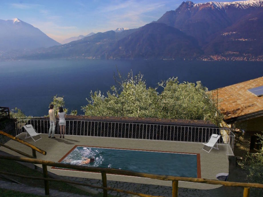 Holiday apartment Casa Biosio amazing view on Lake Como, Italy ...