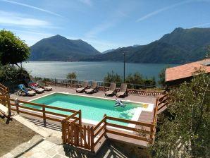 Ferienwohnung Casa Biosio toller Blick auf den Comer See