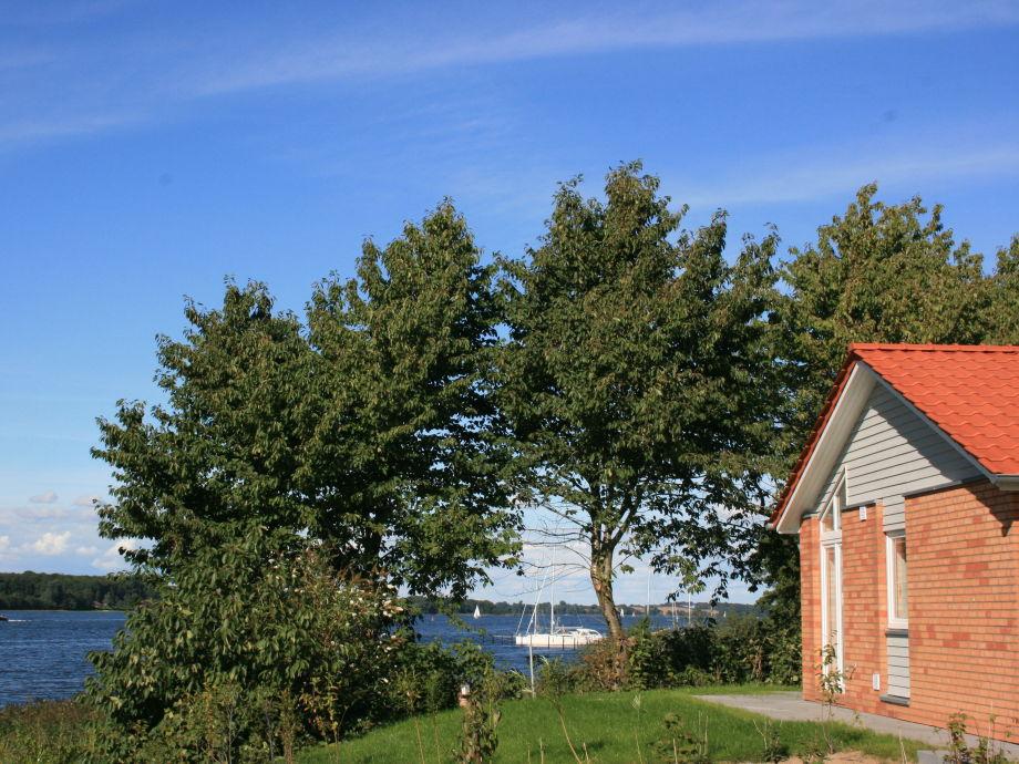 Außenaufnahme Ferienhaus Marina Hülsen - Das Kirschuferhaus