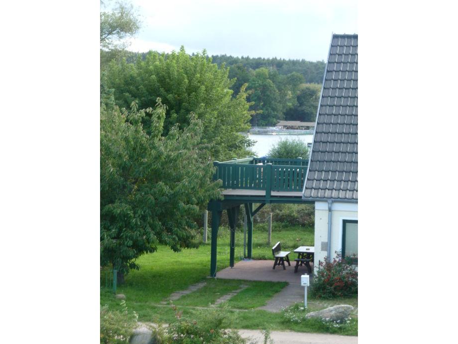 "Ferienhaus ""Morgensonne"" Blick Plauer See"