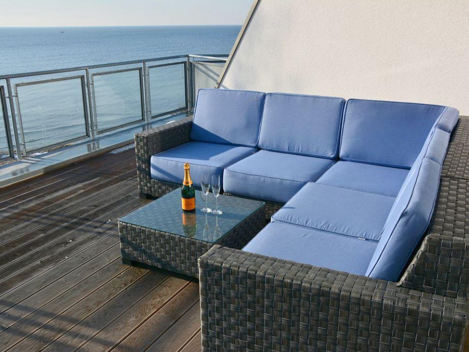 Loungebereich (oberes Deck)