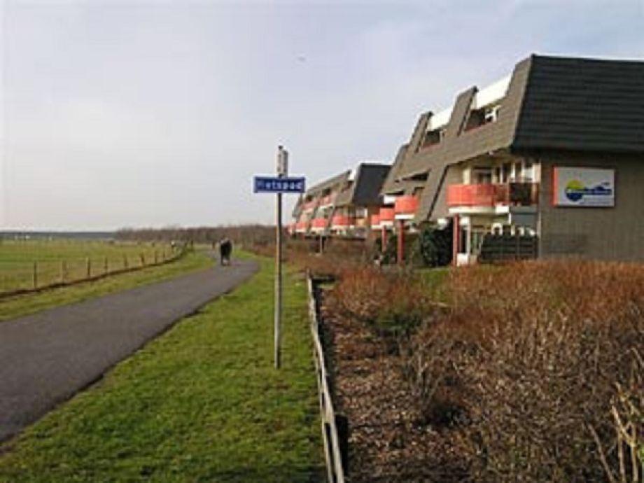 Blick auf das Haus (Südseite