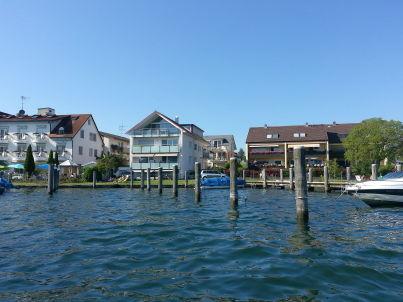 An der Schiffslände - Bodensee