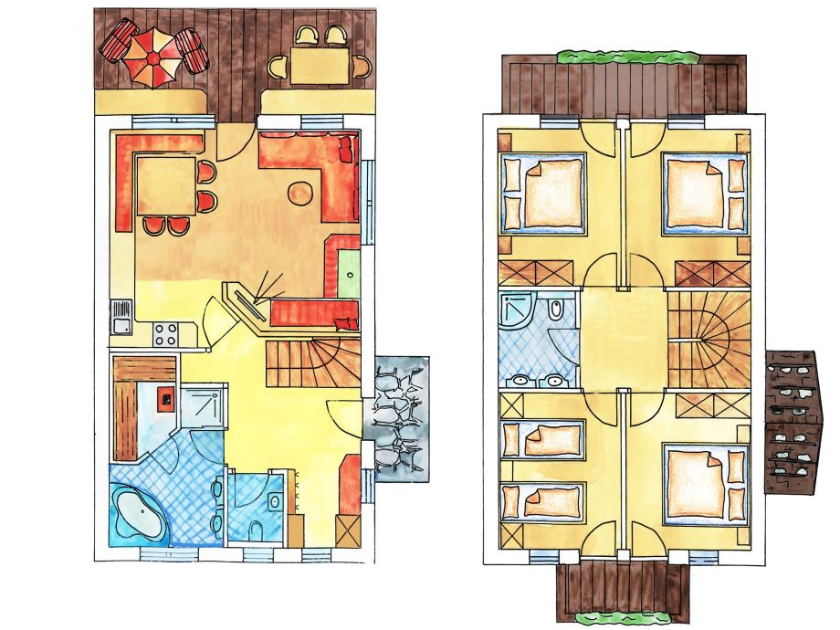 Sprucewood Apartments Floor Plans: Brugger Dörfl, Mayrhofen