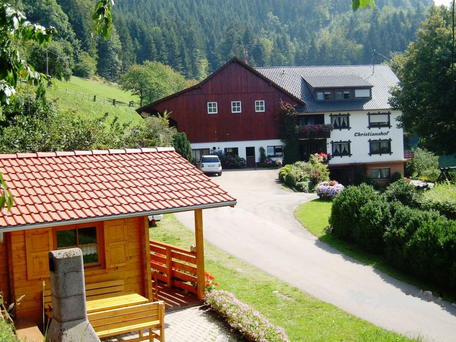 Christianshof mit Gartenhäuschen