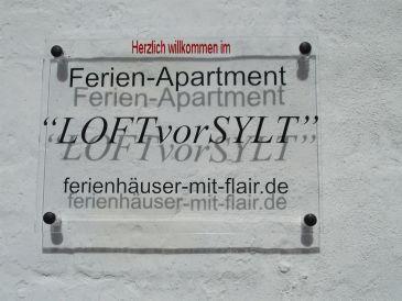 """Ferienwohnung """"LOFTvorSYLT"""""""