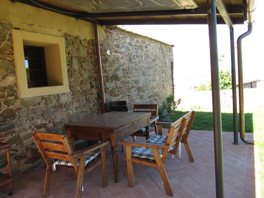 Entspannen auf der privaten Terrasse