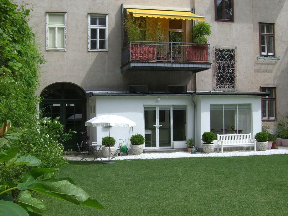 Apartment 55m2 Gartenseite