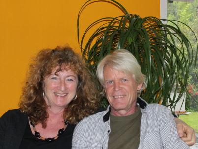Ihr Gastgeber Ursula und Beat Moser und Leuthold