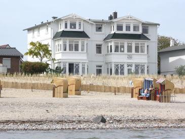 Ferienwohnung in der Villa Hansa mit Meerblick