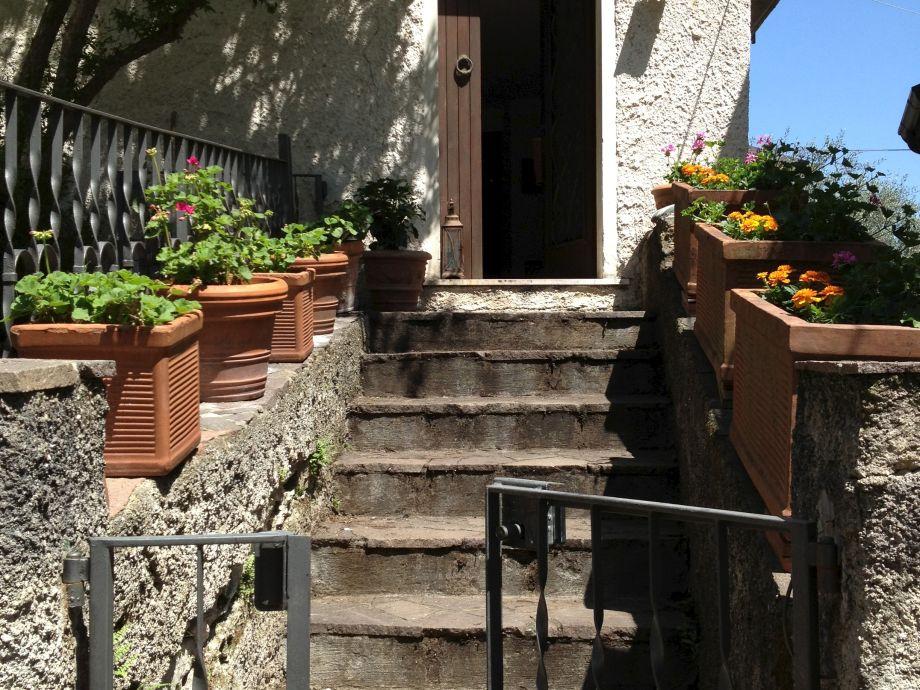 Ferienhaus Casa Zuino - Eingang