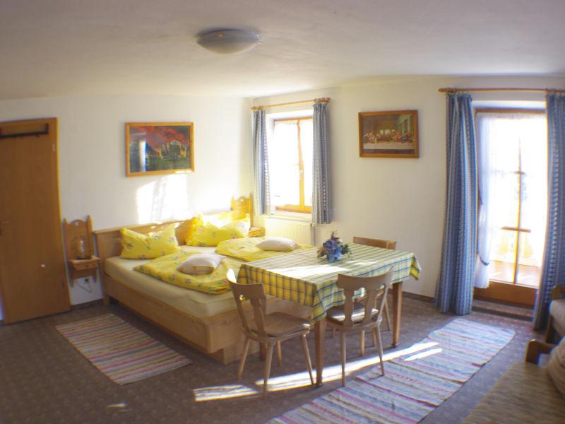 Gästezimmer im Gästehaus Moarhof