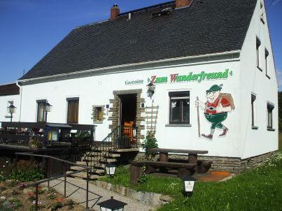 """Pension & Gaststätte """"ZUM WANDERFREUND"""""""