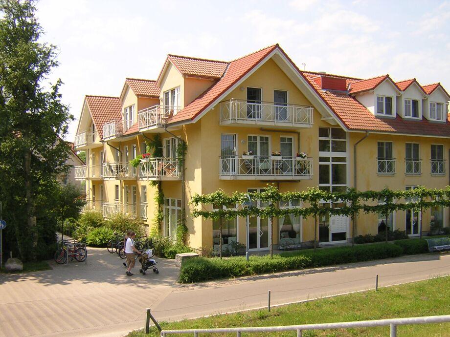 Außenansicht Appartementhaus Meerlust
