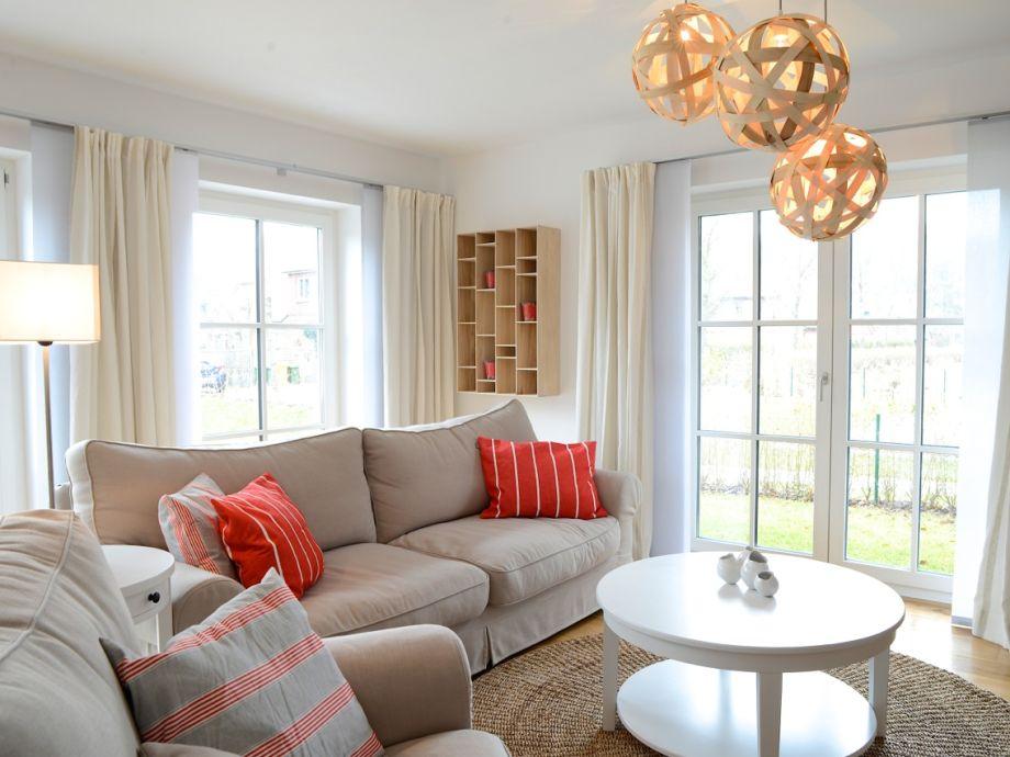 Das Wohnzimmer - hell & geschmackvoll eingerichtet