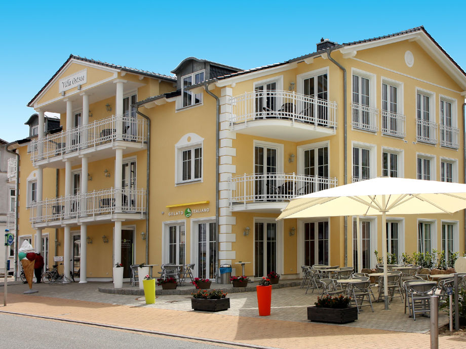 Außenansicht H&P Residenz Villa Ostsee