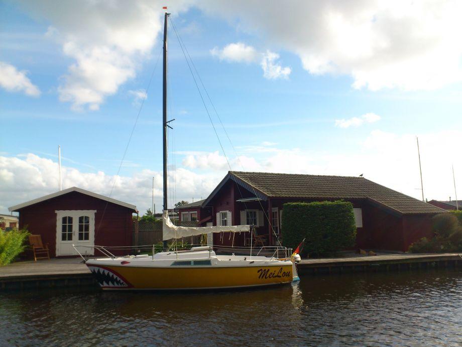 schönes Haus am Meer