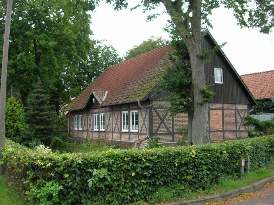 Denkmalgeschütztes Fachwerkhaus