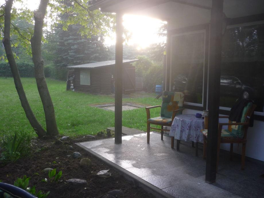 Ein romantischer Sonnenuntergang ist keine Seltenheit.