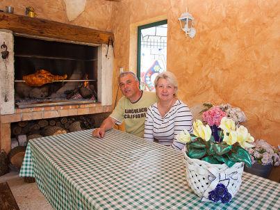 Ihr Gastgeber Aleta und Felice Rusnjak