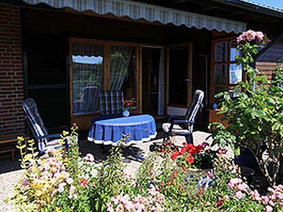 Terrasse am Wohnzimmer